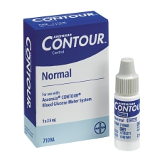 Bayer Contour Normal Control Solution Normal