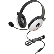 Califone Stereo Headset Panda With Mic