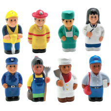 Get Ready Kids Multicultural Career Figures