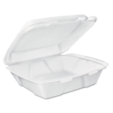 Dart Foam Carryout Food Containers White