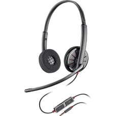 Plantronics Blackwire C225 Headset Stereo Mini