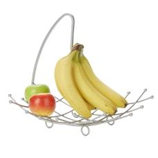 Mind Reader Steel Fruit Tray Bowl