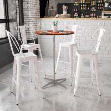 Flash Furniture 30 Round Wood Cocktail