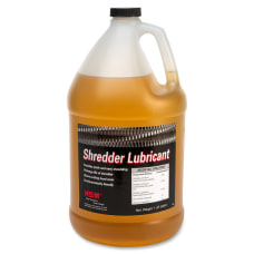 HSM Shredder Lubricant 1 Gallon Amber