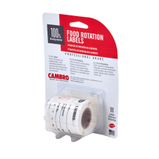 Cambro Food Rotation Labels Blister Pack