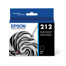 Epson 212 Black original ink cartridge