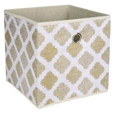 Realspace Storage Cube Medium Size Metallic