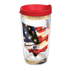 Tervis Woodgrain American Flag Tumbler With