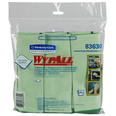 Wypall Microfiber Cloths Box Of 6
