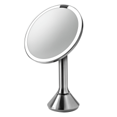 simplehuman Round Sensor Mirror 8 Silver