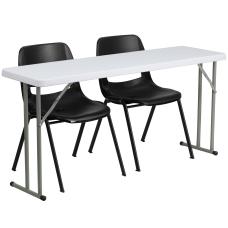 Flash Furniture 5 Plastic Folding Training