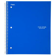 Five Star Notebook 8 12 x