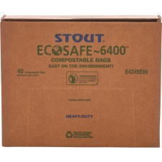 Stout EcoSafe6400 085 mil Compostable Bags