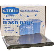 Stout 33percent Recycled Insect Repellent Trash