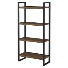 Bush Furniture Latitude 4 Shelf Etagere