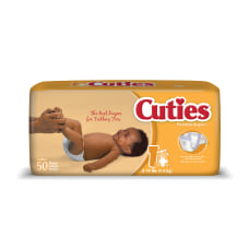 Cuties Baby Diapers Size 1 8