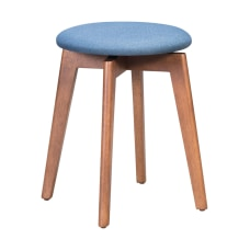Zuo Modern Billy Stools BlueWalnut Set