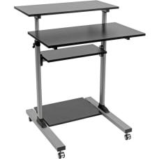 Tripp Lite Rolling Standing Desk Workstation