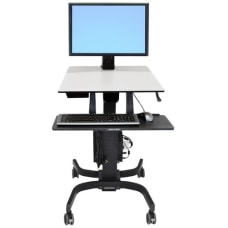 Ergotron WorkFit C Single HD Sit