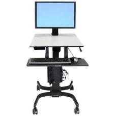 Ergotron WorkFit C Single HD Sit