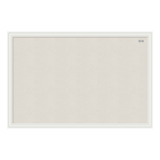 U Brands Linen Bulletin Board 30