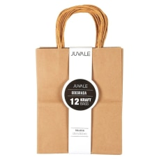 12 Count Brown Kraft Bags Paper