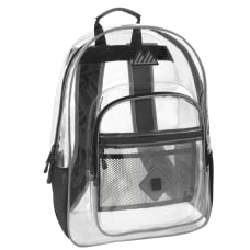 Trailmaker Clear Backpack Gray