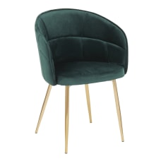 LumiSource Lindsey Chair GreenGold