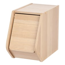 IRIS Modular Stacking Storage Box With