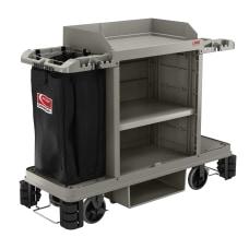 Suncast Commercial Standard Plus Housekeeping Cart