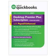 Intuit QuickBooks Desktop Premier Plus with