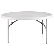 Realspace Molded Plastic Top Folding Table