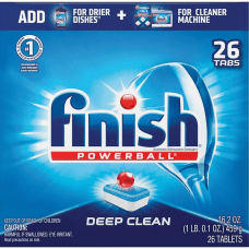 Finish Powerball Dishwasher Tabs Tablet 26