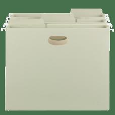 Smead FasTab Hanging Pocket File Folders