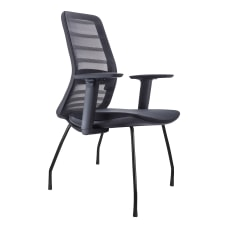 Koplus Tonique Mesh Guest Chairs Midnight