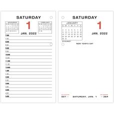 AT A GLANCE Daily Desk Calendar