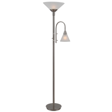 Kenroy Home Brady Torchiere Floor Lamp