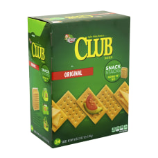Keebler Original Club Crackers Snack Stacks