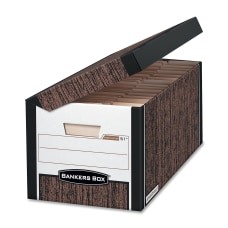 Bankers Box Systematic Storage Boxes Letter