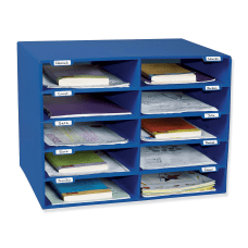 Pacon 70percent Recycled Mailbox Storage Unit