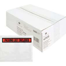 Sparco Pre labeled Packing Slip Envelope