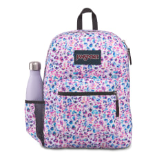 JanSport Cross Town Backpack Leopard Dots