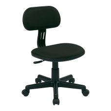 Office Star Student Task Chair Black