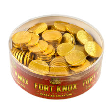 Fort Knox Milk Chocolate Foil Coins