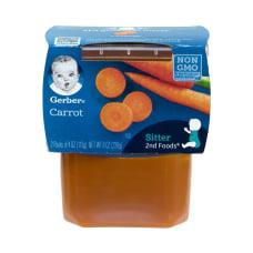 Gerber 2nd Foods Carrots Baby Food
