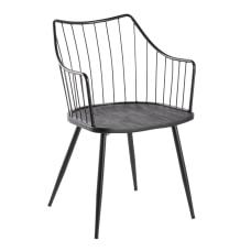 LumiSource Winston Chair Black