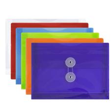 JAM Paper Plastic Index Envelopes With
