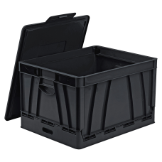Storex Collapsible Storage File Storage Crate