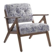 Office Star Reuben Arm Chair Blue