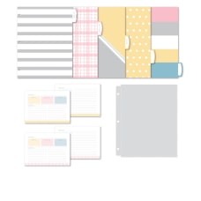 Office Depot Recipe Organizer Kit Letter